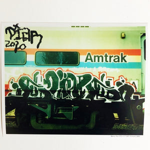 "Benny DIAR, Signed by Mouth - 2020 - Amtrak - 8"" x 10"" Photo Print"