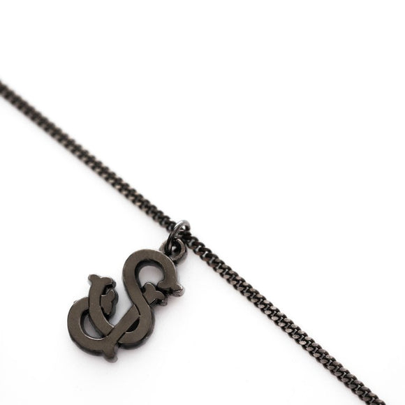 The 'SJ' San Jose (Ruthenium) Chain w/ Pendant - CLOUT x Fadavi & Co.