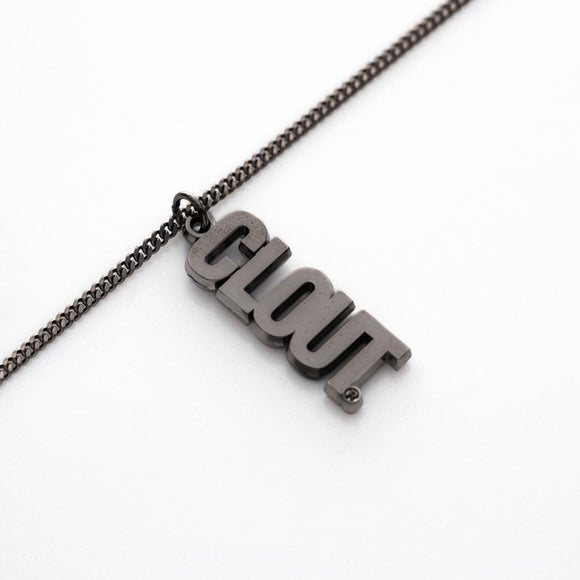 CLOUT Header (Rethenium) Chain w/ Pendant - CLOUT x Fadavi & Co.
