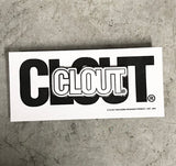 CLOUT Header Logo Enamel Pins - 4 Color Combinations to Choose From