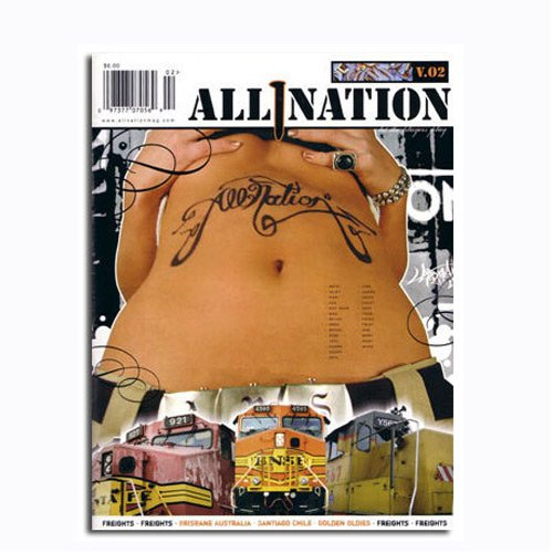 ALL NATION #2 Graffiti Magazine
