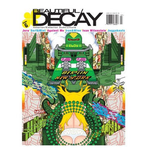 BEAUTIFUL DECAY #G - Art & Graffiti Magazine