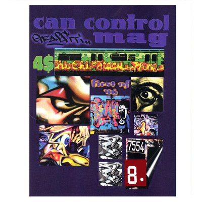 CAN CONTROL 1996 - Graffiti Art Magaazine