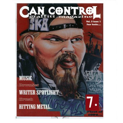 CAN CONTROL VOL. 3 ISSUE 1 Graffiti Magazine