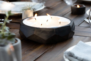 No. 13 | Limited Release - Citronella Large Geo Bowl
