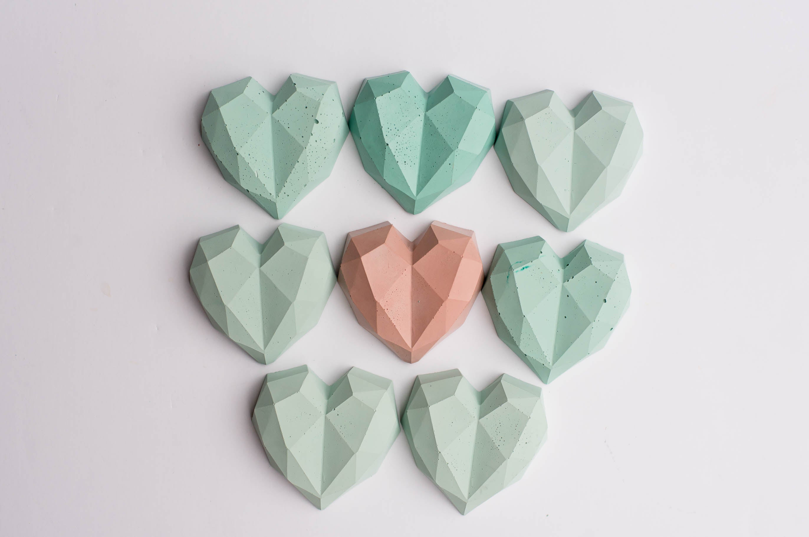 No. 19 | Concrete Heart Stone/Magnet
