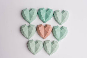 No. 19 | Concrete Heart Magnets