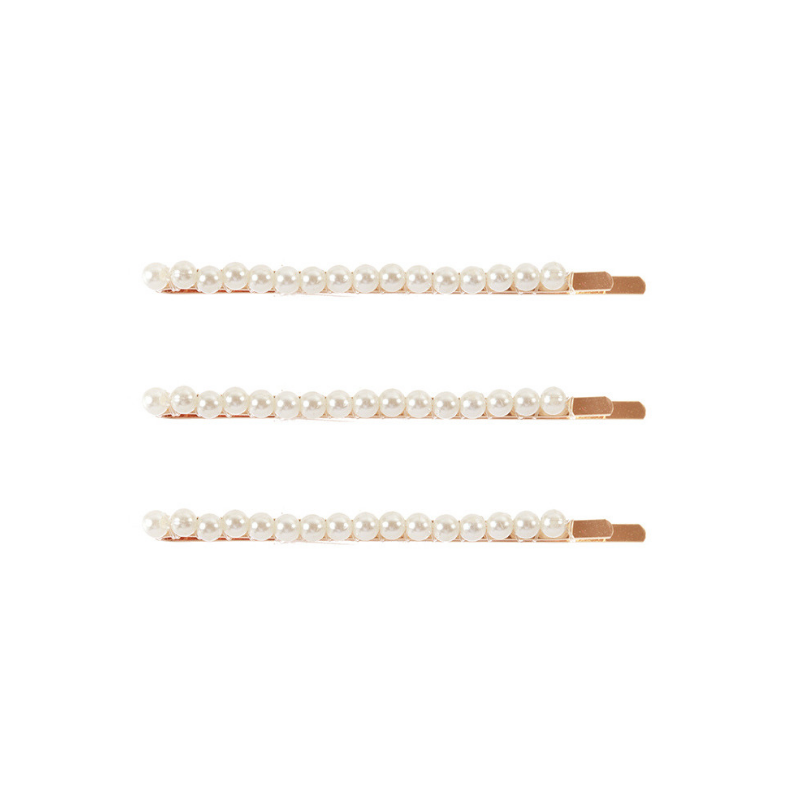 Simulated Pearl Hair Pins/Bobby Pins (Gold) - Boutique109 Fashion Apparel Clothing