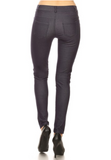 5 Pocket 4 Way Stretch Jeggings (Navy) - Boutique109