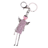 Girl Key Chain/Purse Charms (Pink) - Boutique109