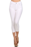 Cropped Length Jeggings (White) - Boutique109 Alpharetta Apparel and Accessories for Women
