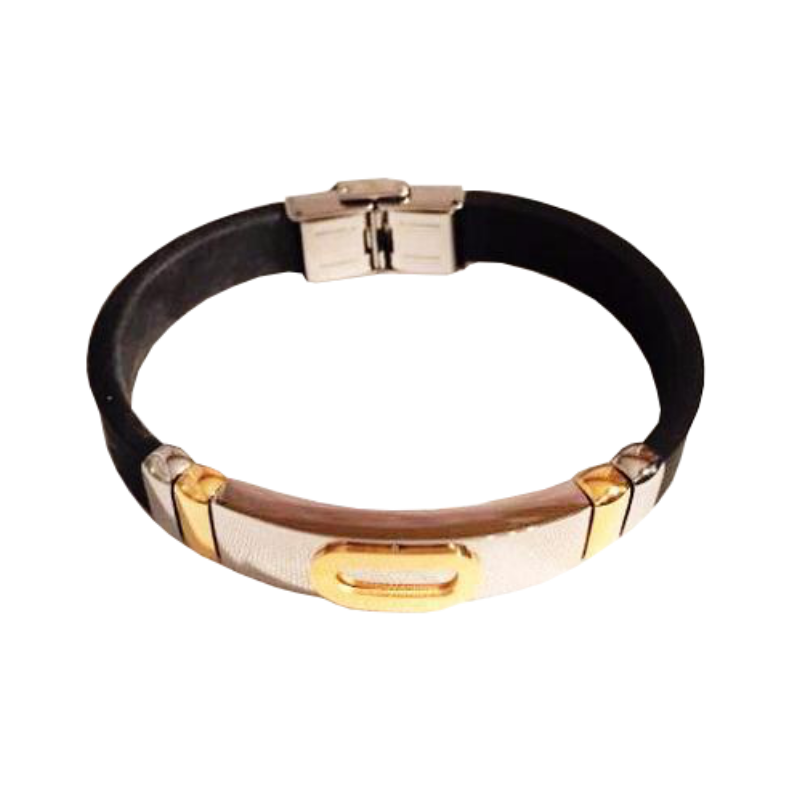 Italian Stainless Steel Bracelet (Gold) - Boutique109 Alpharetta Apparel and Accessories for Women