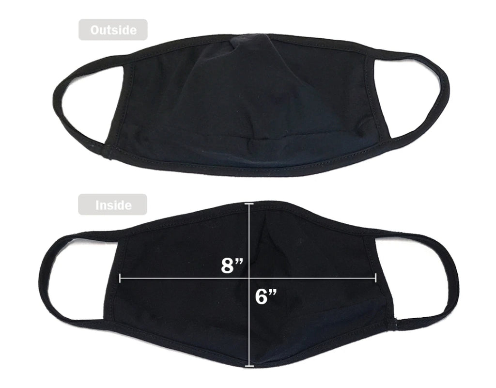 Protective Mask Solid Black