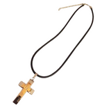 Men's Stainless Steel Cross Necklace - Boutique109