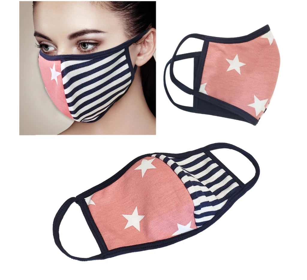 Protective Masks Stars & Stripes - Boutique109 Alpharetta Apparel and Accessories for Women