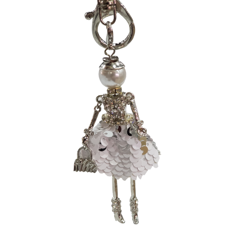 Shopper Girl Key Chain/Purse Charms - Boutique109 Accessories and Gift Items