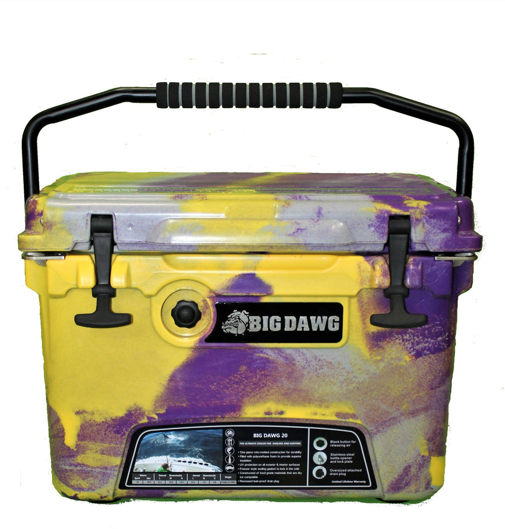 Big Dawg 20 - Purple/Gold/Grey