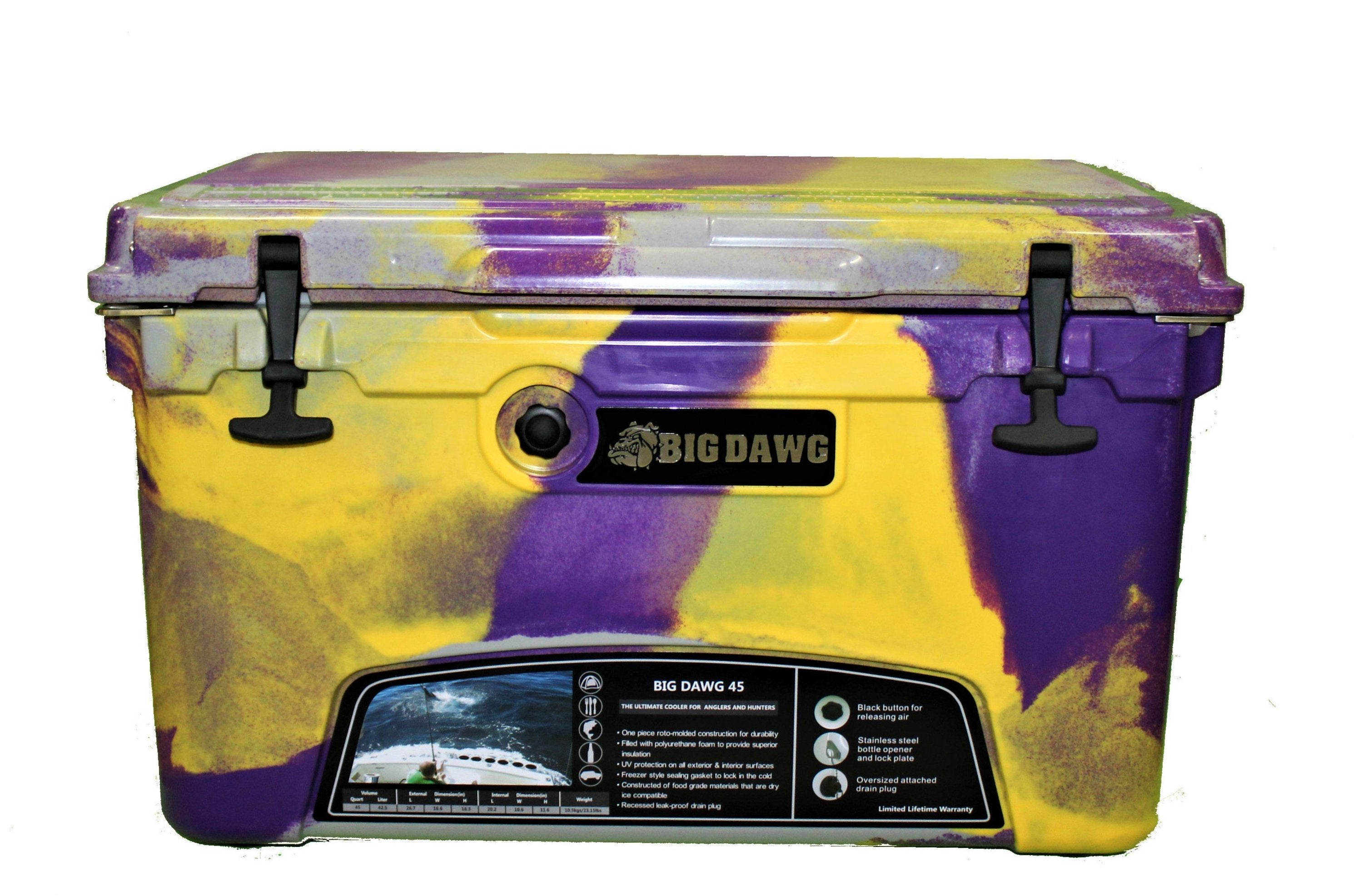 Big Dawg 45 - Purple/Gold/Grey