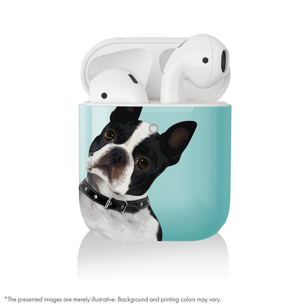 AirPods Cover Bulldog - Pet Series by Katya Fernandez