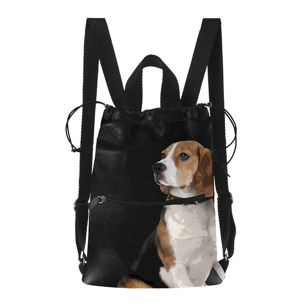 Backpack Beagle - Pet Series by Katya Fernandez