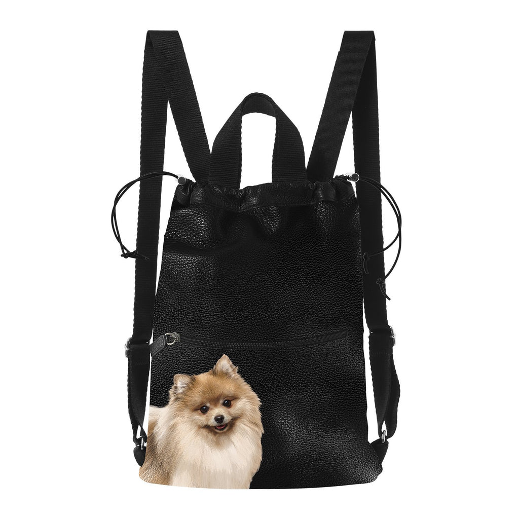 Backpack Pomeranian - Pet Series by Katya Fernandez