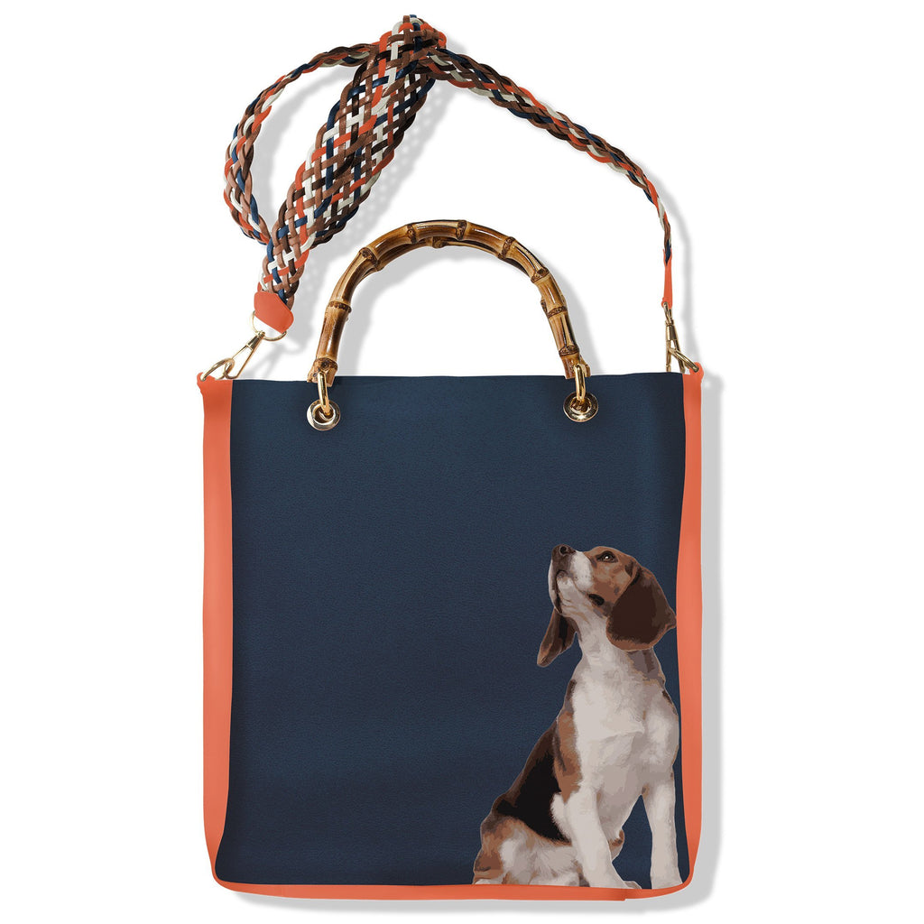 Handbag Alex Beagle - Pet Series by Katya Fernandez