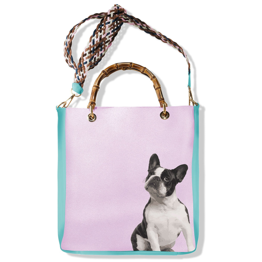 Handbag Alex Bulldog - Pet Series by Katya Fernandez