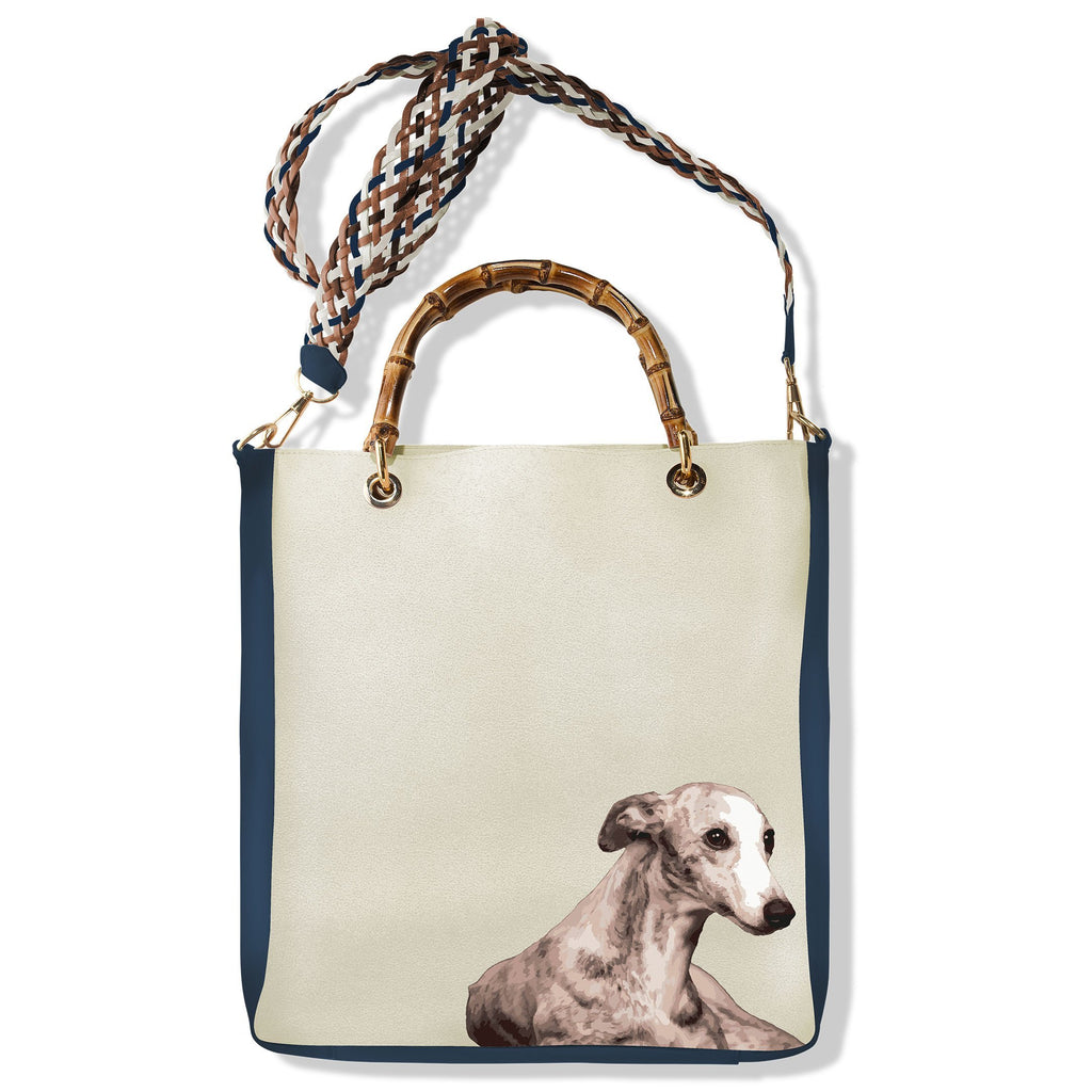 Handbag Alex Greyhound - Pet Series by Katya Fernandez