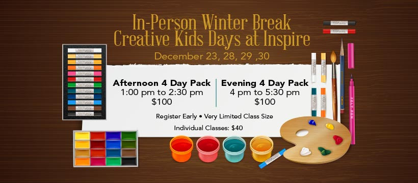 Winter Break  Art Class for Children  Afternoon Session