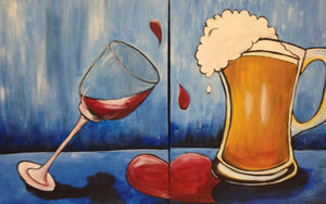 Couples Date Night  Paint & Sip July 20