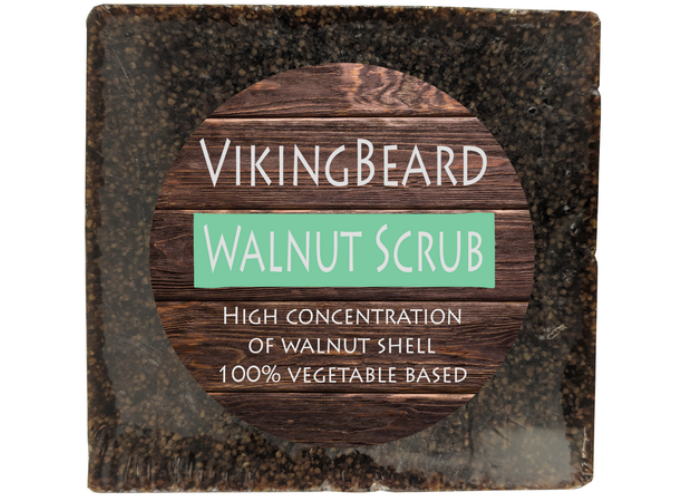 Walnut Scrub Soap Plant Based