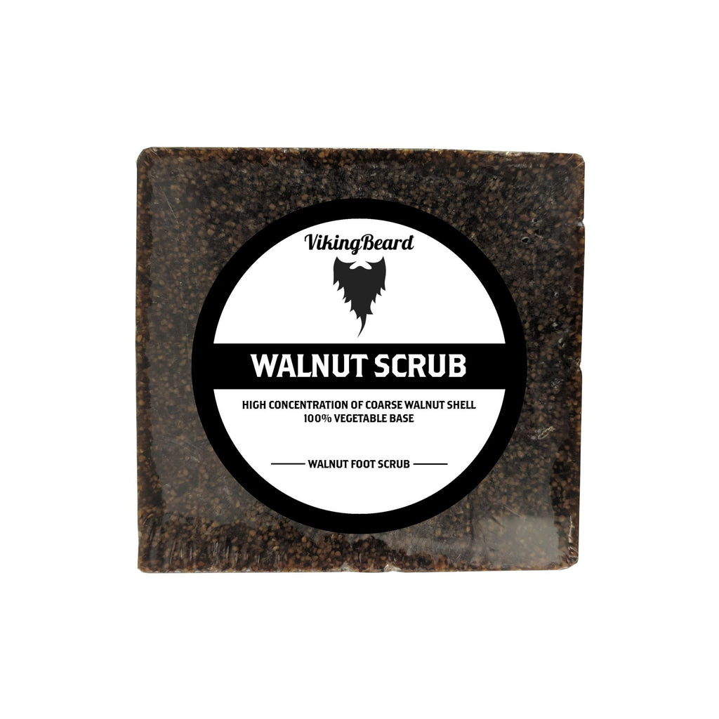 VikingBeard Walnut Scrub Soap