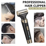 Waterproof Wireless Rechargeable Hair Clipper