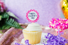 Load image into Gallery viewer, Mother's Day Cupcake Toppers