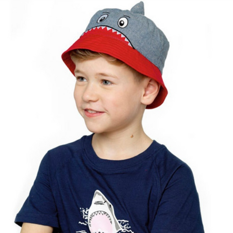 Shark 'bucket' hat