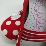 Dotty Canvas Slip-ons
