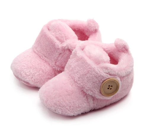 Fluffy Slipper in Pink