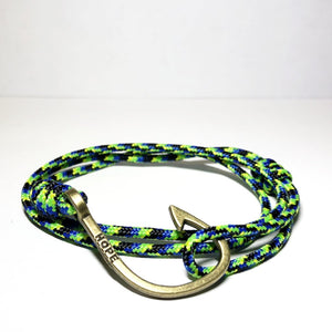 Hooks4Hope Bracelet For The River - Mahi/Bronze