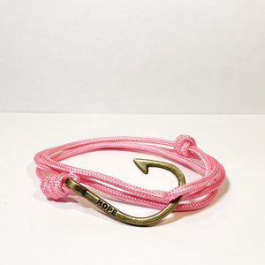 Hooks4Hope Bracelet For The River - Pink/Bronze