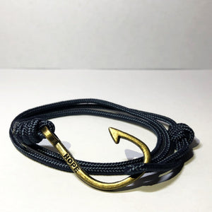 Hooks4Hope Bracelet For The River - Smokey Blue/Bronze