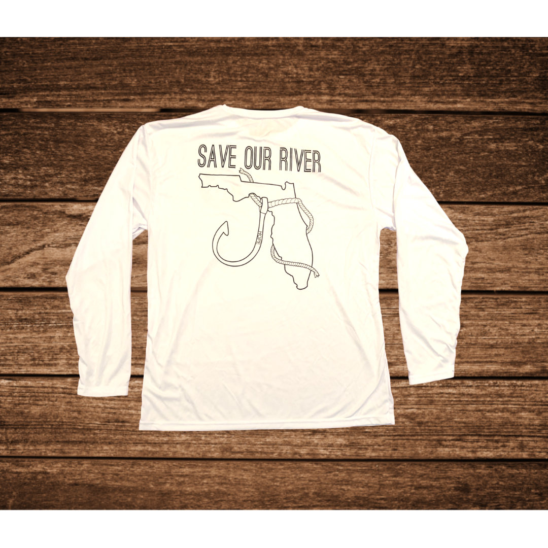 White Fishing Shirt - River Collection