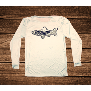 White Fishing Shirt - Seagrass Collection