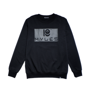 LOGO EMBOSSED SWEATSHIRT
