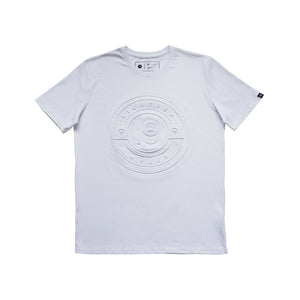 EMBOSSED SEAL COTTON T-SHIRT