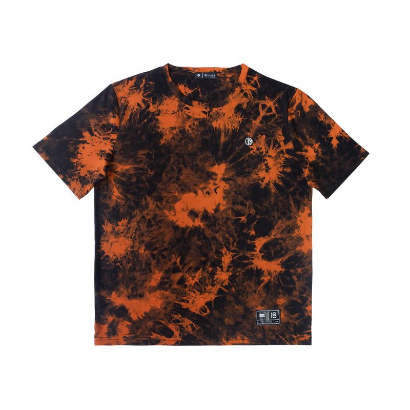 ULTRA ORANGE TIE DYE T-SHIRT
