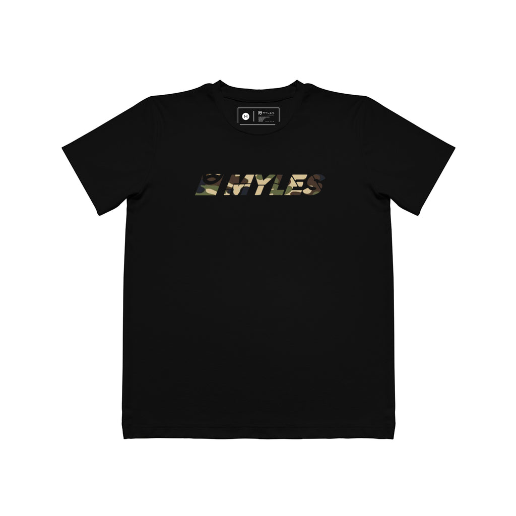 CAMO EMBOSSED MYLES T-SHIRT