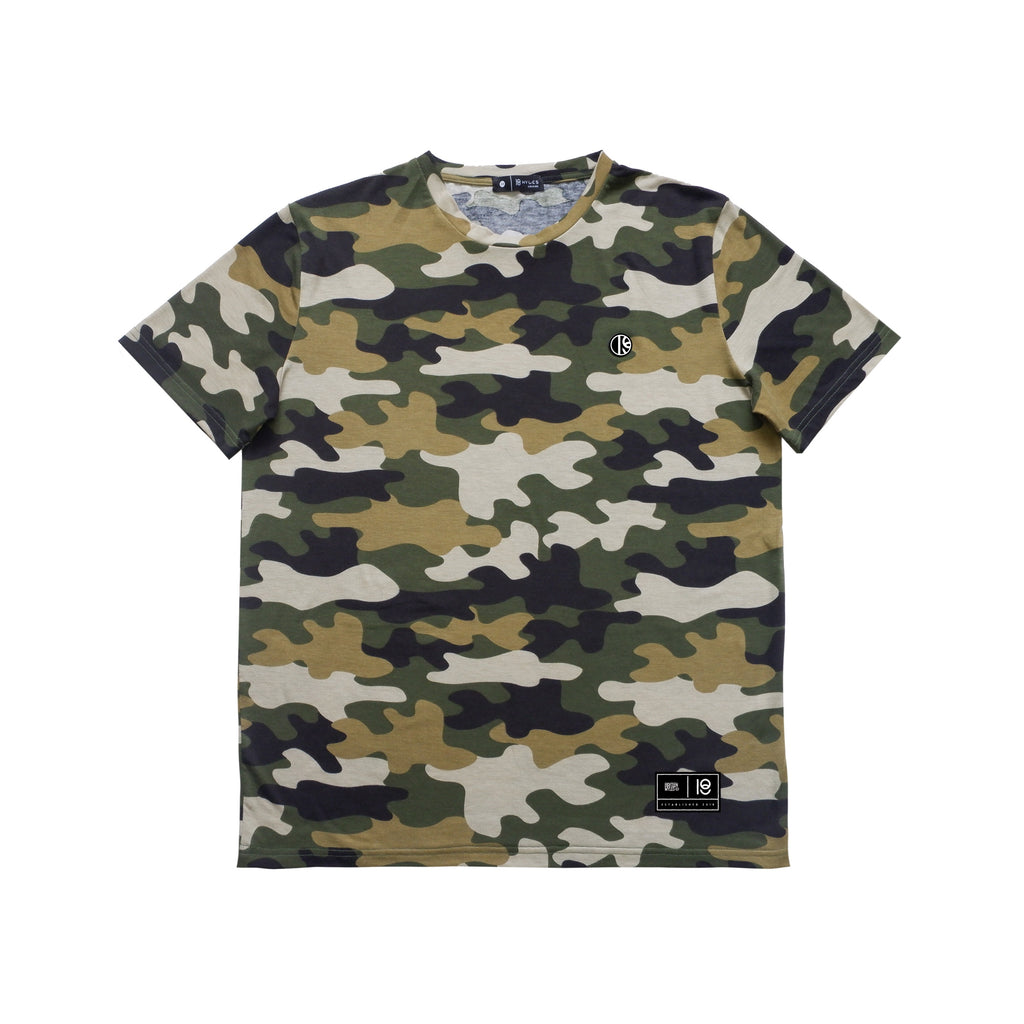BASIC GREEN CAMO T-SHIRT