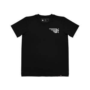 SIDE WING TEXTURED T-SHIRT