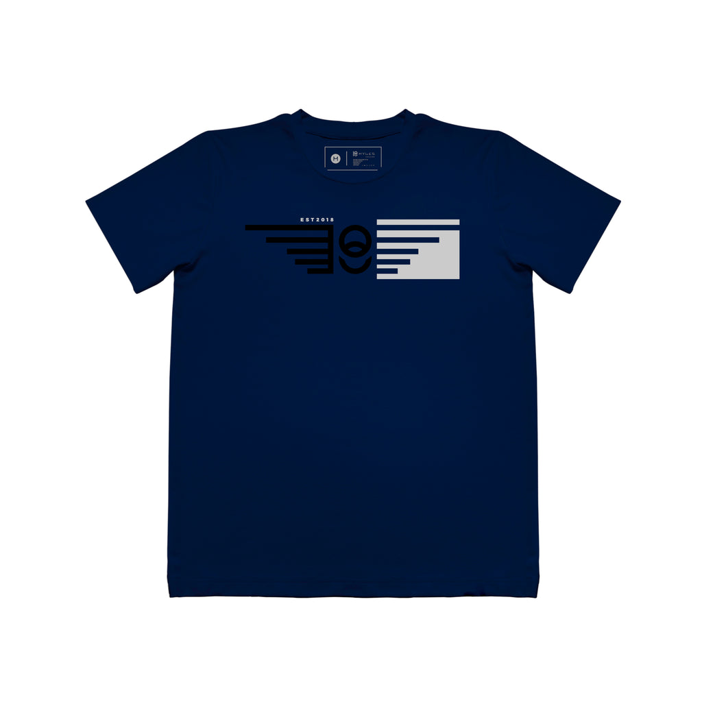 BOX WING TEXTURED T-SHIRT
