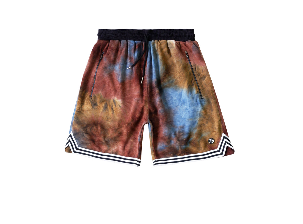 EARTH TIE DYE BALLER SHORTS